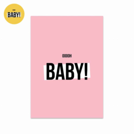 Studio Stationery kaart Oooooh Baby Girl