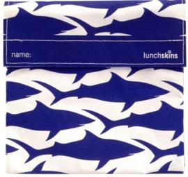 Lunchskin Big Bag Navy Shark