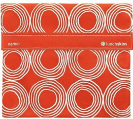 Lunchskin Big Bag Orange Circles
