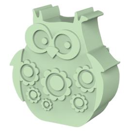 Blafre Lunchbox Uil mint groen