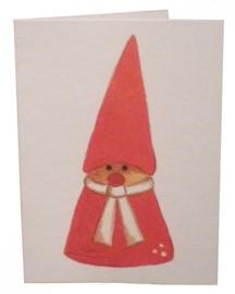 Geschenkkaartje Kerstman van Anneko