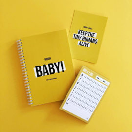 Studio Stationery Ohhhh Baby Weekly Journal