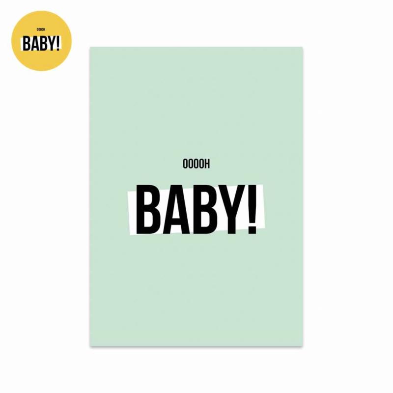 Studio Stationery kaart Oooooh Baby Boy