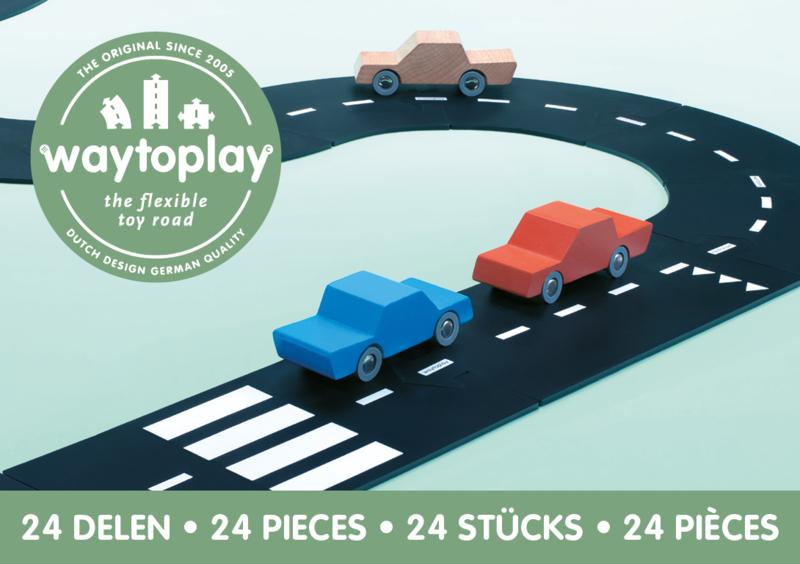 Waytoplay Highway - Snelweg 24 pieces