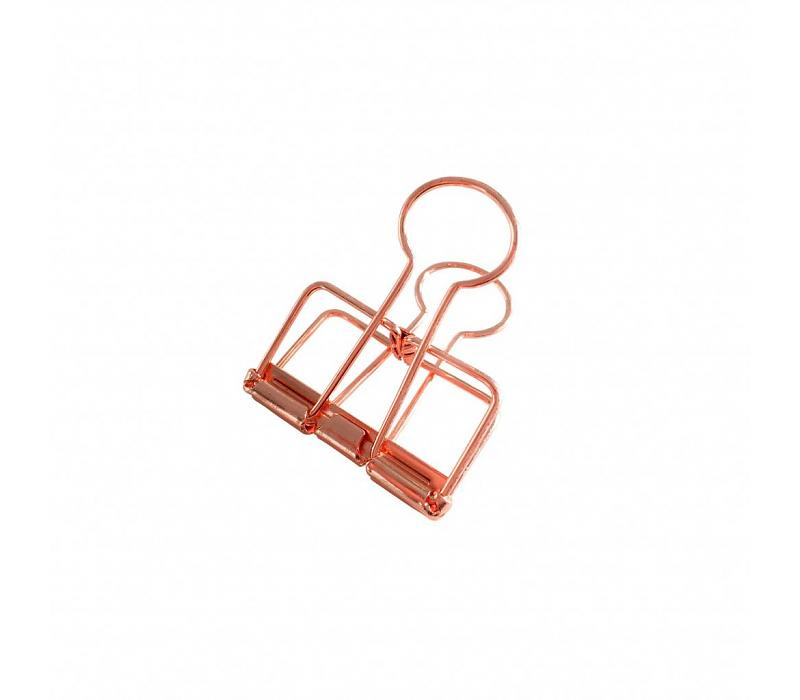 Studio Stationery Binder clips Copper M