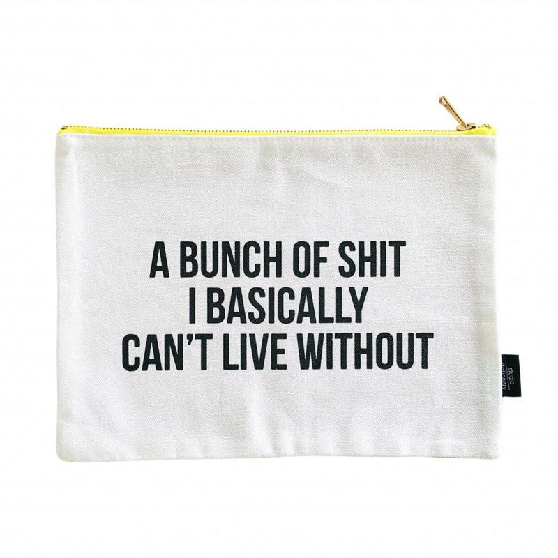 Studio Stationery Canvas bag Bunch of shit XL