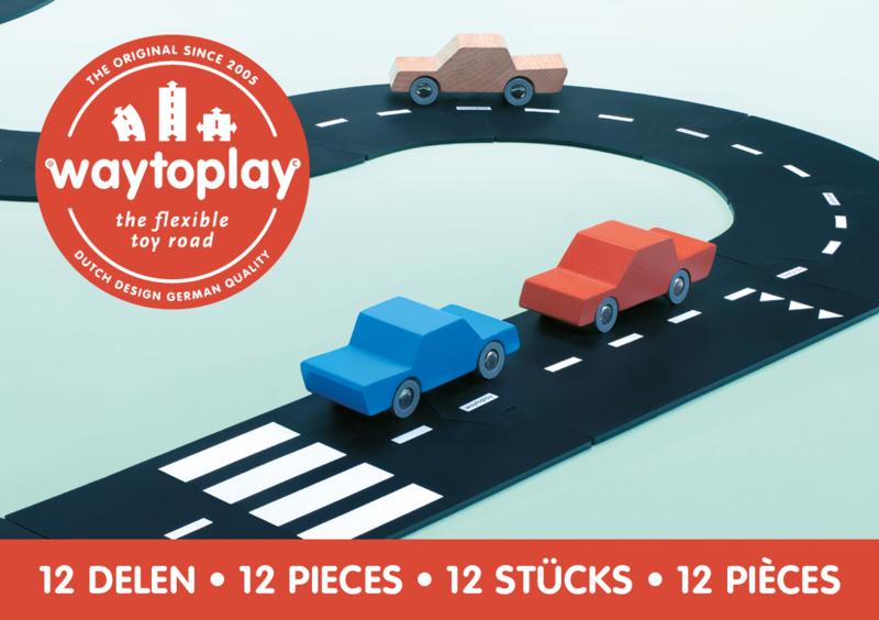 Waytoplay Ringroad - Ringweg  12 pieces