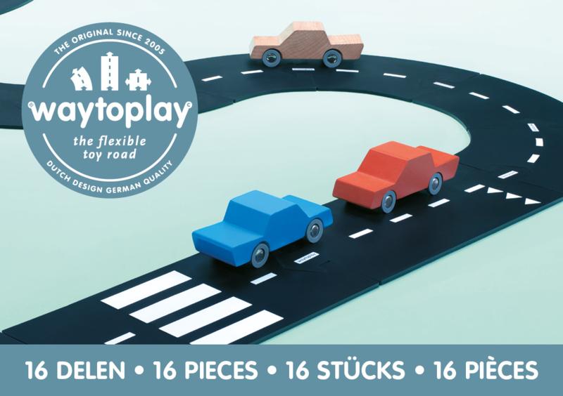 Waytoplay Expressway - Autoweg 16 pieces