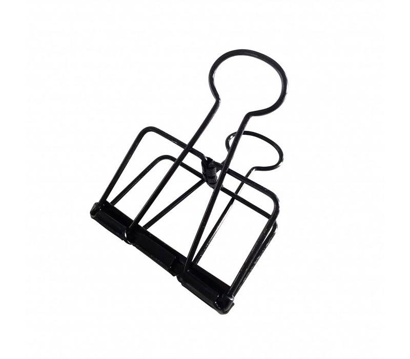Studio Stationery Binder clips Black XL