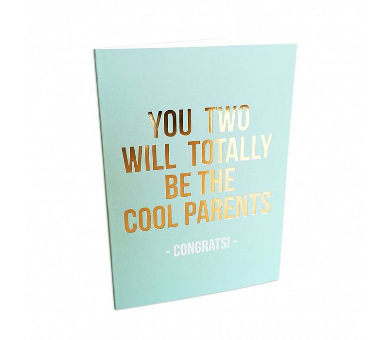 Studio Stationery Kaart Cool Parents - Zwanger of geboorte