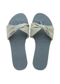 You Saint Tropez - material silver blue