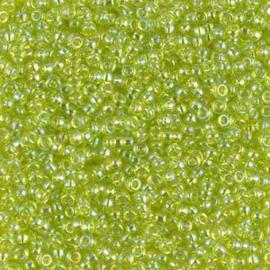 258 - Transparant Rainbow Lime - 8/0