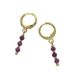 Earrings Ruby