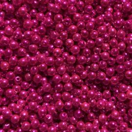 Parel Shocking Pink - 5 mm