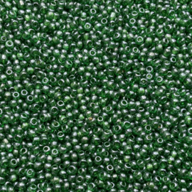 Transparant Green Luster - 11/0