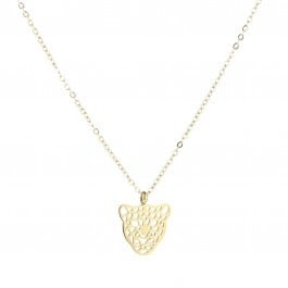Necklace Leopard Gold & Silver