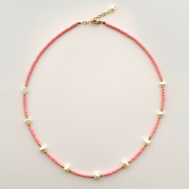 Necklace Baby Pink Pearl