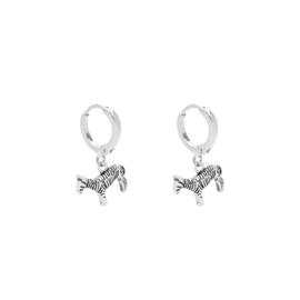 Earrings Zesty Zebra