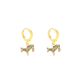 Earrings Zesty Zebra