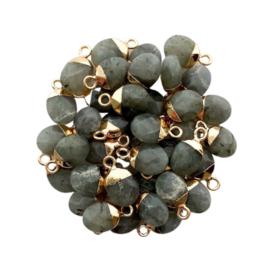 Labradorite Gemstone Charm
