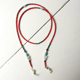 Sunny cord red/silver
