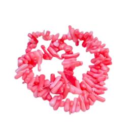 Bamboo coral chips - flamingo