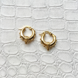 Bali hoops large - gold