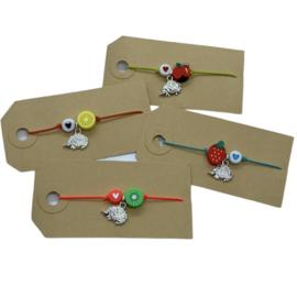 Armbandje egel & kiwi