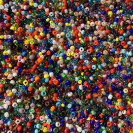 8035 - Multicolour - mix 2 van maten 9/0 en 10/0