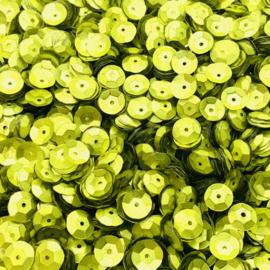 PAI 816 - Lime Matte Metallic - facet 8 mm