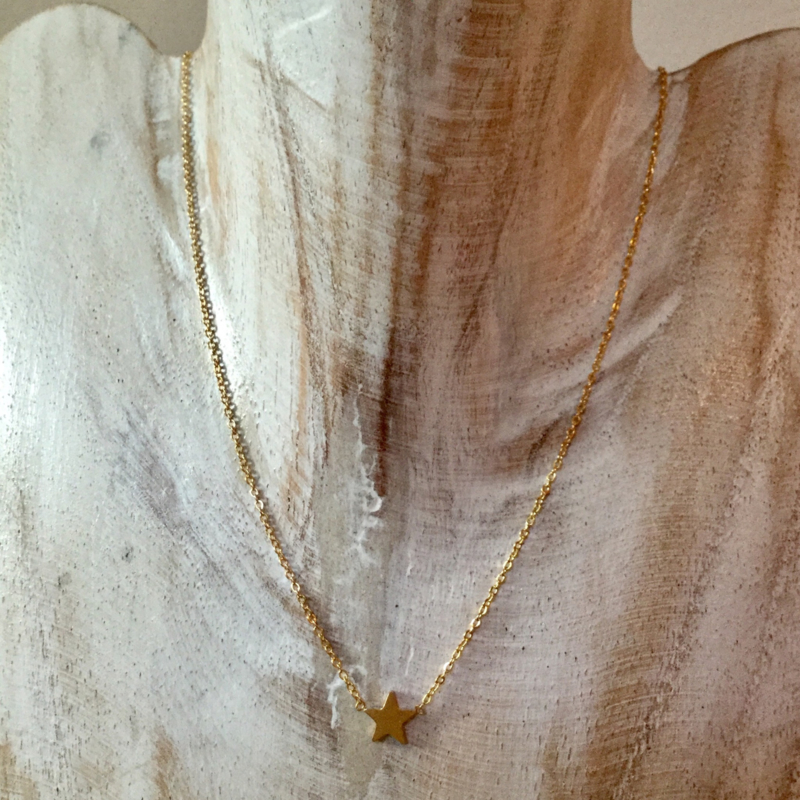 Necklace Little Star - gold