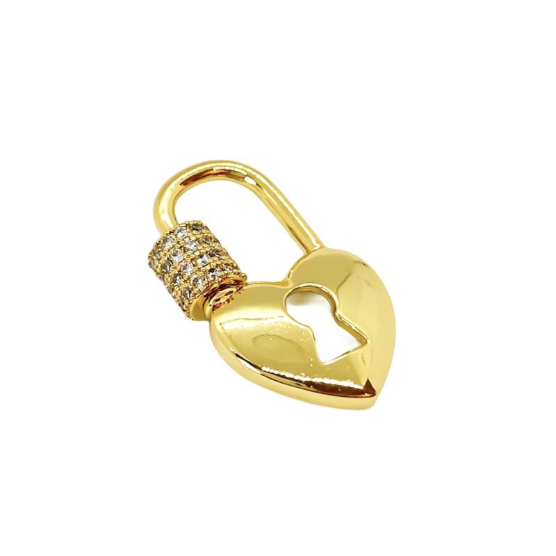 Heart lock zirconia
