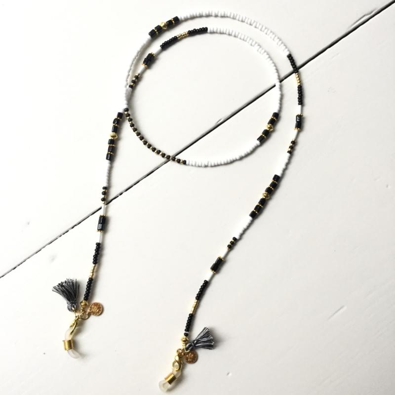 Sunny cord - black/gold