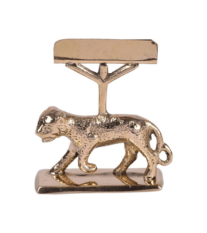 Kaarthouder leopard - A La Collection