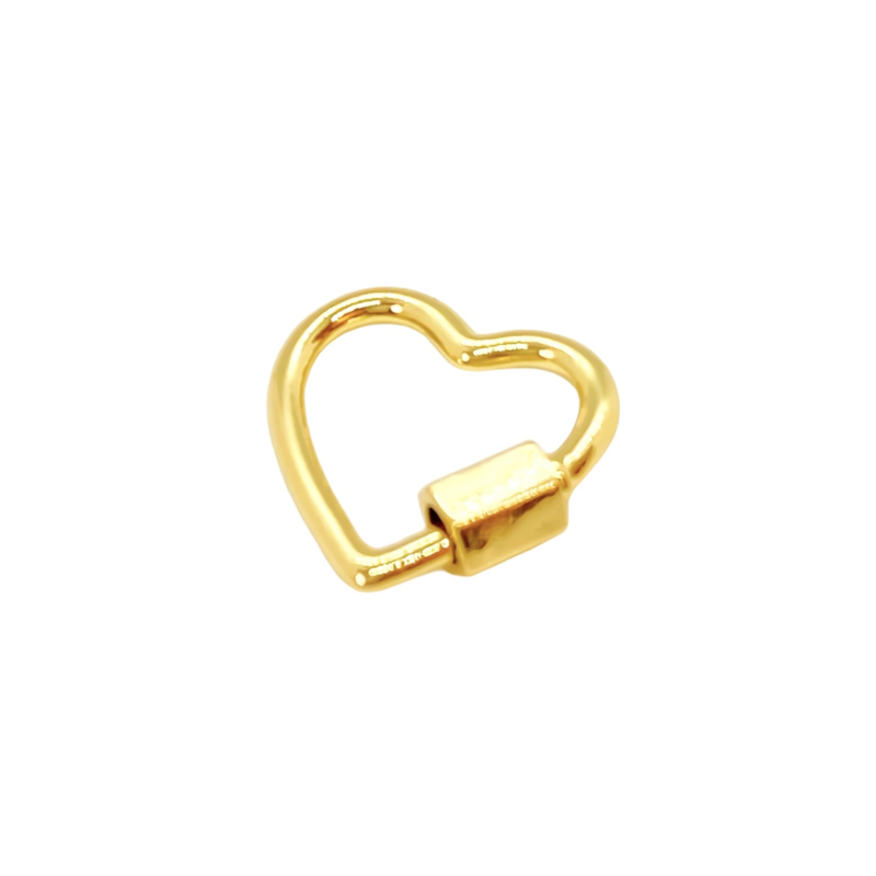 Heart - gold plated