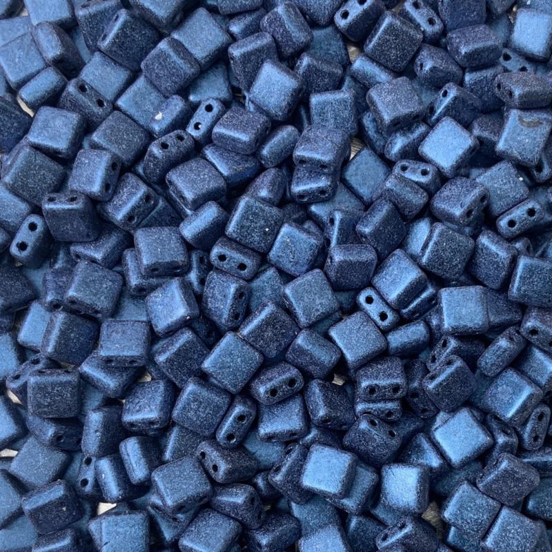 Metallic Suede Blue  - 20 stuks (25015AL)