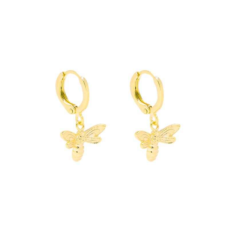 Earrings Beautiful Bee