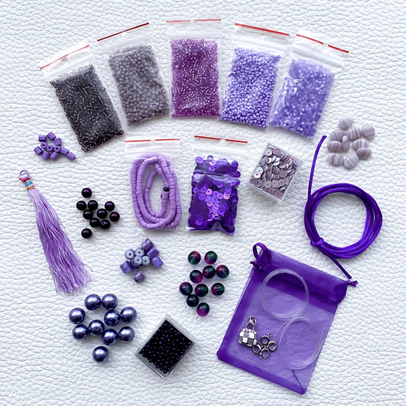DIY set ~ The Color of Purple