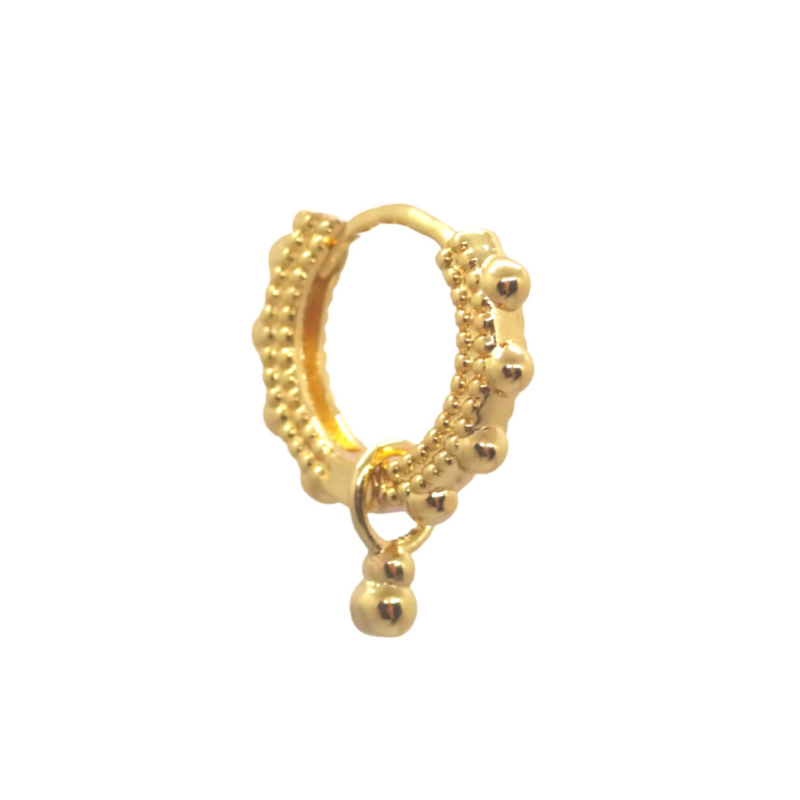 Chunky Boho Gold Earrings