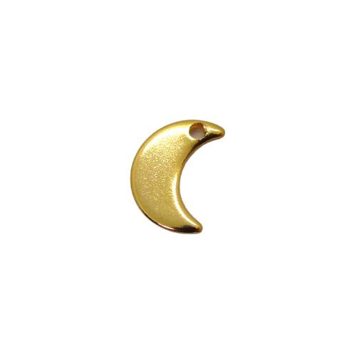 Half Moon Gold Charm