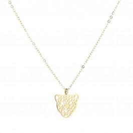 Leopard - gold & silver