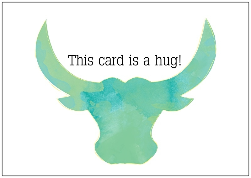 This card is a hug!