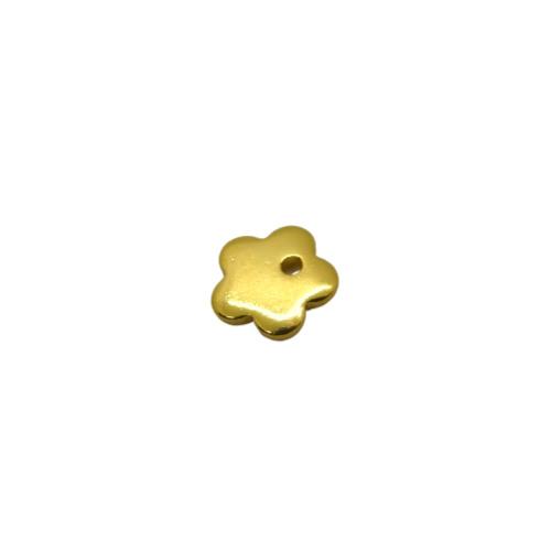 Flower Gold Charm