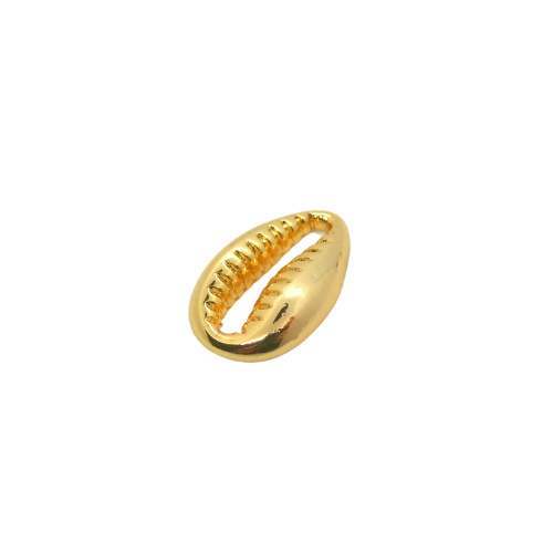 Cowrie Shell Gold Charm