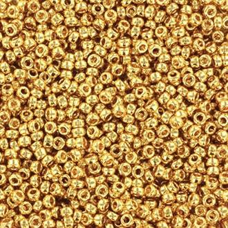 191 - 24 kt Gold Plated- 8/0 & 11/0 & 15/0 (LET OP: 2 GRAM)