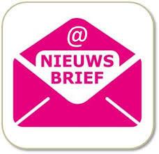 Knop Nieuwsbrief lila
