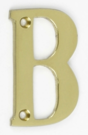 Letter B messing klein