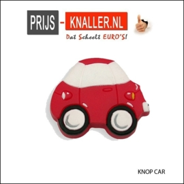 Knop Auto 47 mm rood