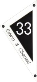 Perspex naambord 16,5 x 36 cm 5101