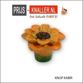 5 Stuks: knop Kabir 35mm*52 mm bloem vorm